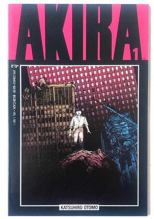 Akira  Comic No.1 1988