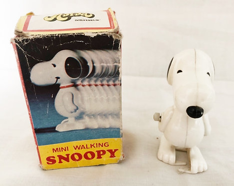Snoopy Mini Wind-Up Walker Aviva 1958