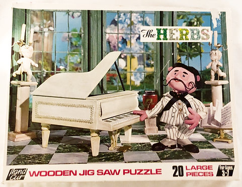 The Herbs Wooden Jigsaw Puzzle 1969