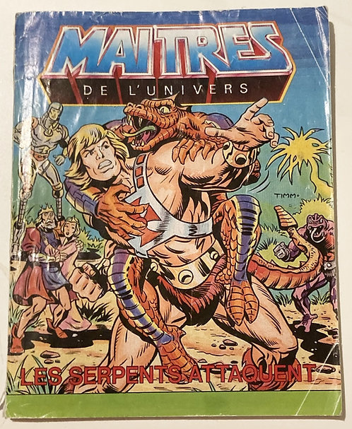 He-Man And The Masters Of The Universe Snake Attack