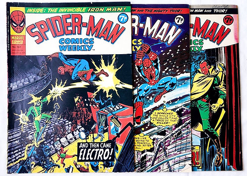 Spider-Man Comic Set Marvel U.K. 1975