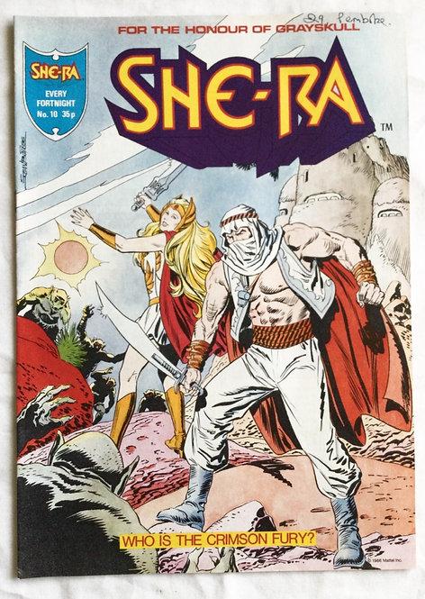 She-Ra Princess Of Power No 10 Comic 1986