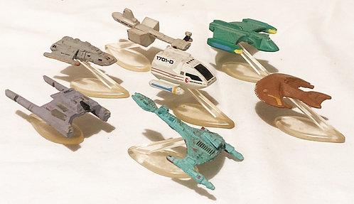 Star Trek Micro Machines Set Galoob 1993