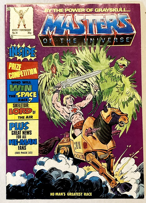 He-Man And The Masters Of The Universe Comic No 11 1986