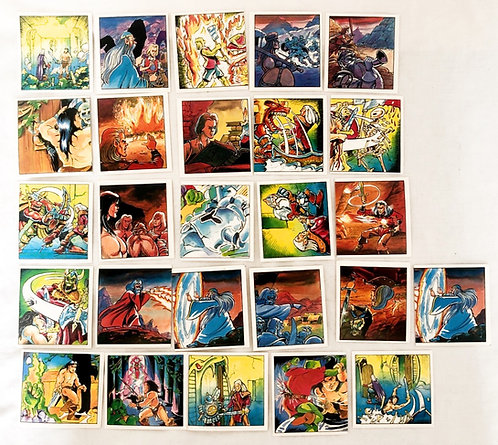 HeroQuest Stickers (Set 5) 1991