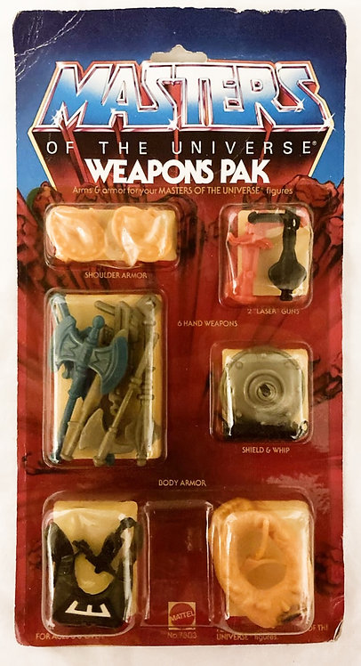 He-Man And The Masters Of The Universe Weapons Pack Mattel 1983