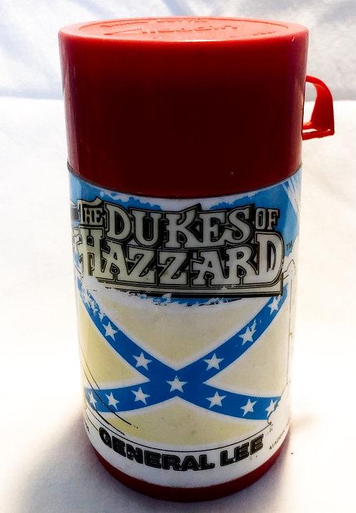 Vintage The Dukes Of Hazzard Thermo Bottle Aladdin 1980