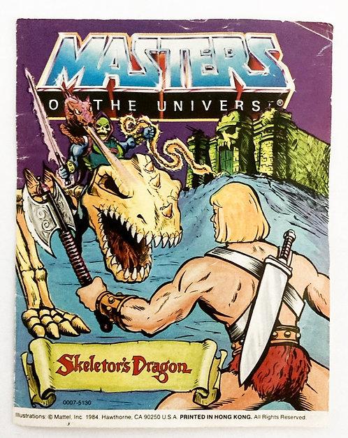 He-man Masters Of The Universe Skeletor's Dragon Mattel 1986