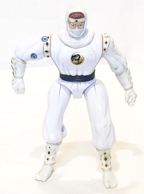 Mighty Morphin Power Rangers White Ninja Ranger Bandi 1995