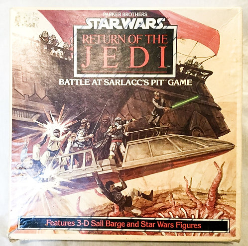 Vintage Star Wars Return Of The Jedi Battle At Sarlacc's Pit Game 1983