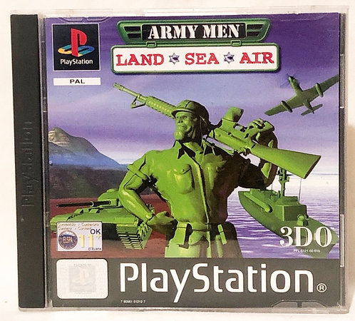 Army Men Land, Sea, Air PlayStation Game U.K. (PAL)