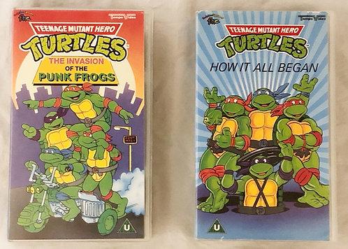 Teenage Muntant Hero Turtles VHS Set