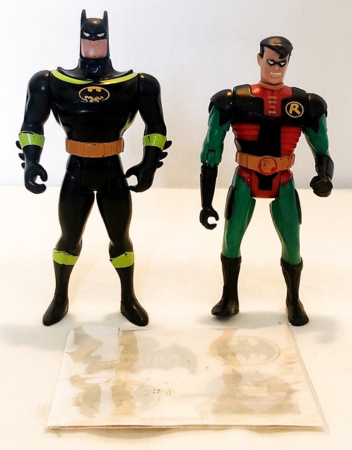 Vintage Batman And Robin Figure With Tattoos Set