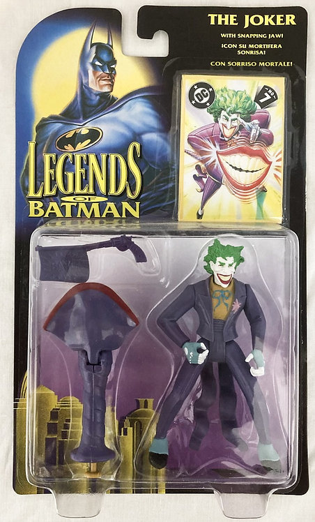 DC Legends Of Batman Joker With Snapping Jaw Kenner 1994