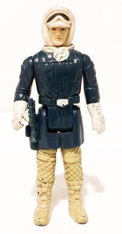 Vintage Star Wars Empire Strikes Back Hoth Han Pale Face Kenner 1980