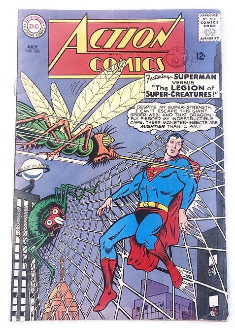 Action Comics #326 July 1965
