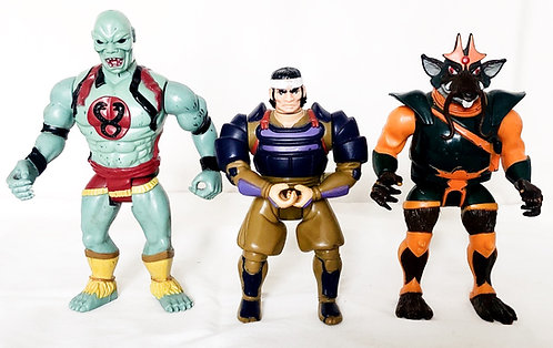 Thundercats Figure Set 1986