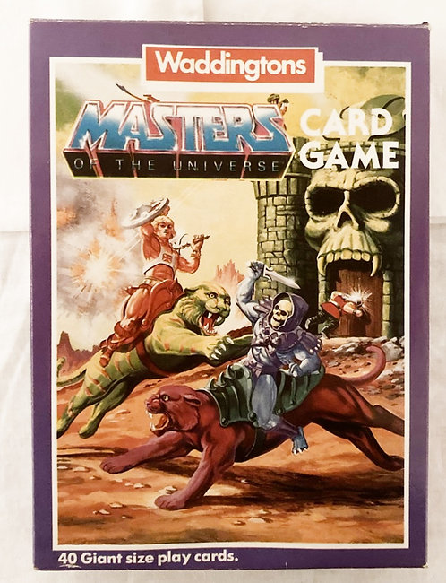 He-Man And The Masters Of The Universe Card Game Waddingtons 1985