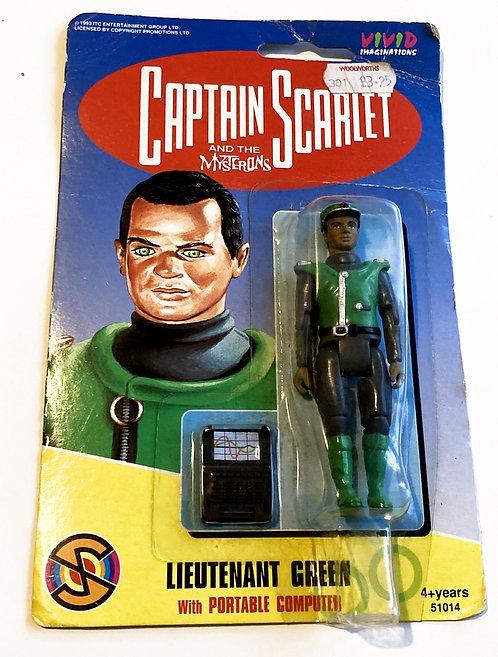 Captain Scarlett And The Mysterons Lieutenant Green Vivid