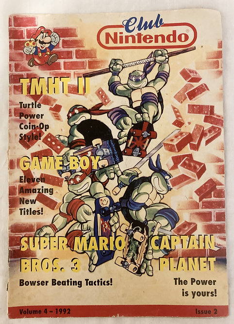 Nintendo Club Magazine Volume 4 Issue 2 1992 UK