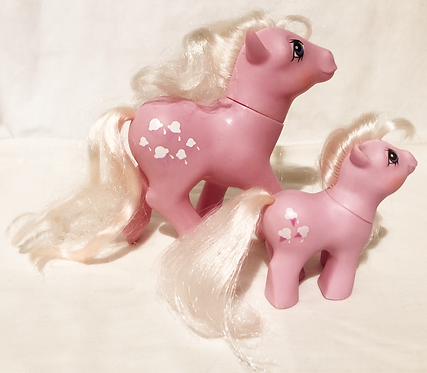 My Little Pony Lickety Split And Baby Lickety Split 1987