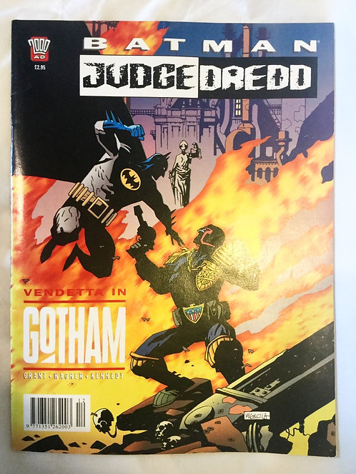 Batman Judge Dredd 2000 AD Vendetta In Gotham Comic