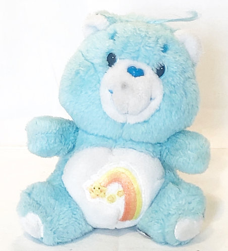 Care Bears Wish Bear Small Plush Tonka/American Greeetings1983
