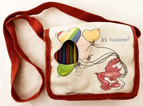 Care Bears Children's Colouring Bag 1988
