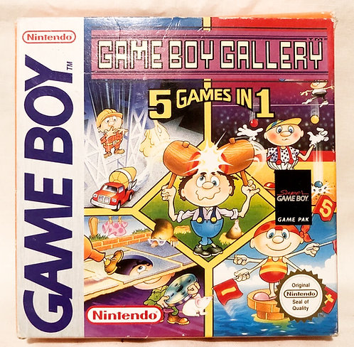 Game Boy Gallery 5 Games In 1 Nintendo Game Boy