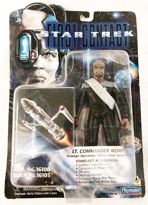 Star Trek First Contact Lt. Commander Worf Playmates 1995