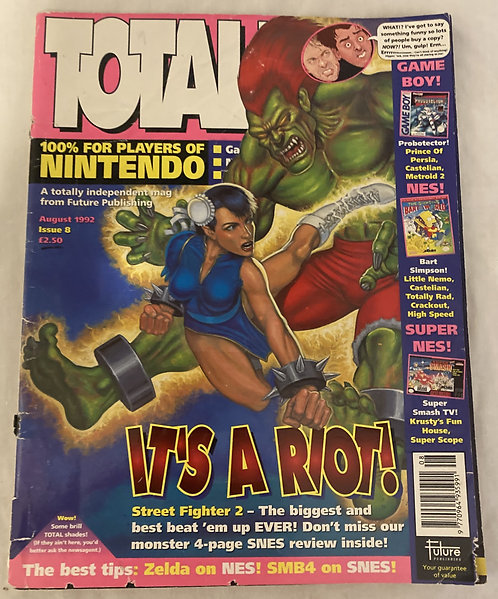 Total! Magazine Issue 8 August 1992