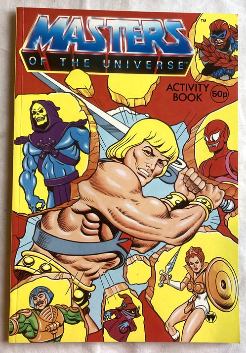 He-Man And The Masters Of The Universe Activity Book 1986