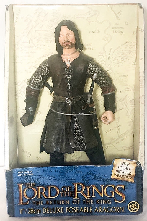 The Lord Of The Rings Return Of The King Aragon Figure 28cm Posable Toy Biz