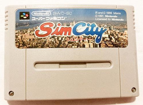 Nintendo Super Famicom Sim City