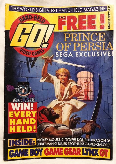 GO! Hand Held Video Games No 11 September 1992