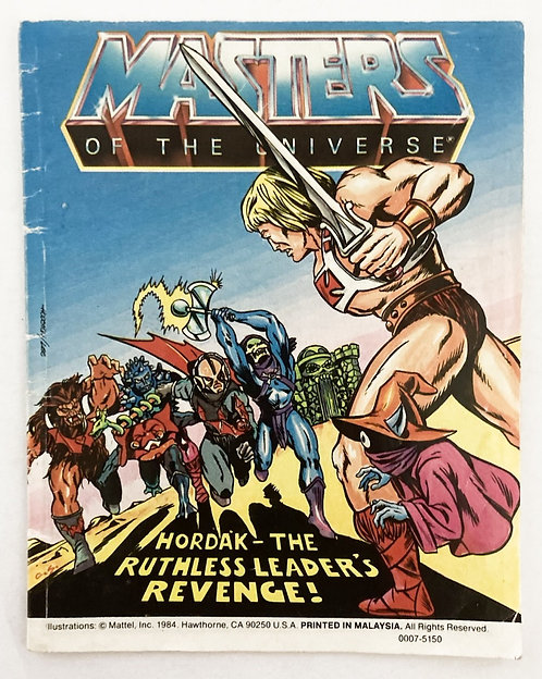 He-man And The Master Of The Universe Hordak - The Ruthless Leaders Revenge!