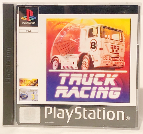Truck Racing PlayStation Game U.K. (PAL)
