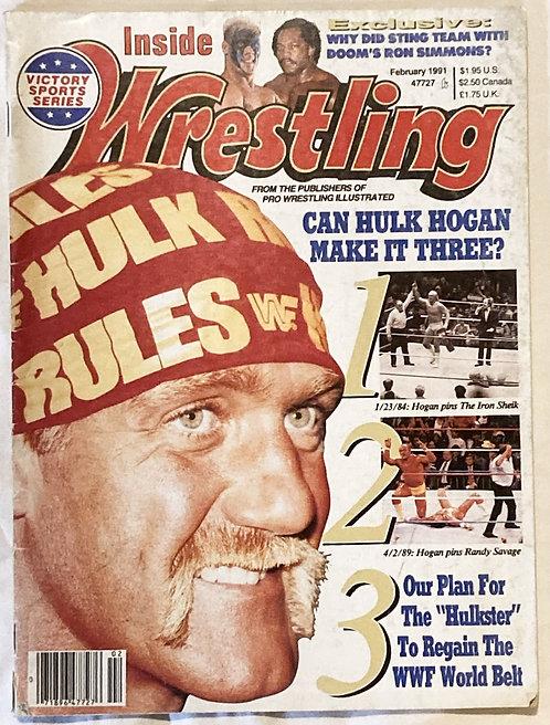 Inside Wrestling Feb 1991