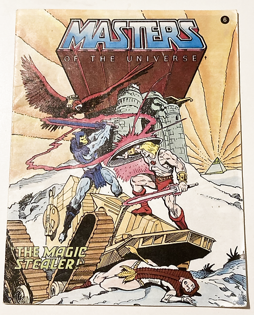 He-Man And The Masters Of The Universe The Magic Stealer