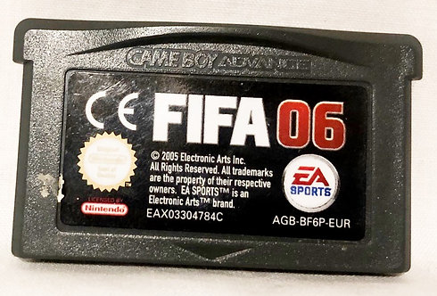 FIFA 06 Nintendo Game Boy Advanced