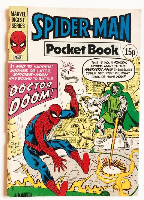 Marvel Digest Series Spider-Man Pocket Book 1983