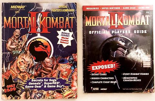 Mortal Kombat 2 Official Guides Magazine Set