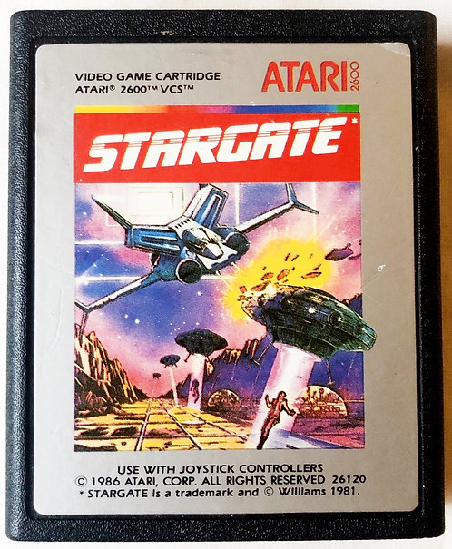 Stargate Atari 2600 U.K. (PAL)