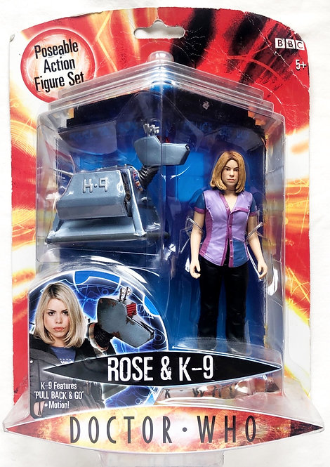 Doctor Who Rose And K9