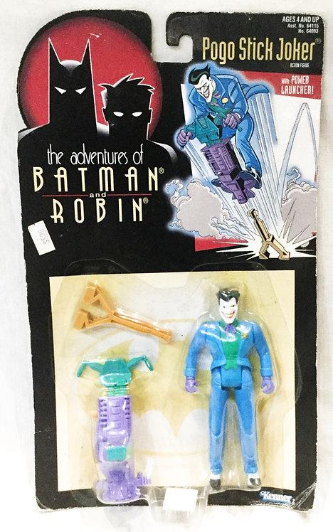 The Adventure Of Batman And Robin Pogo Stick Joker Figure Kenner 1995