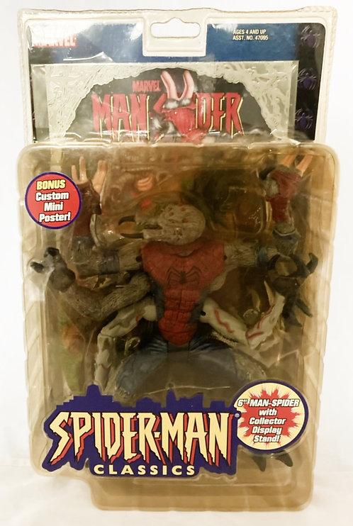 Marvel Spider-Man Classics Man-Spider Toy Biz 2000