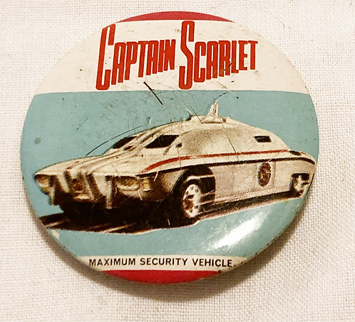 Captain Scarlet Badge 1967
