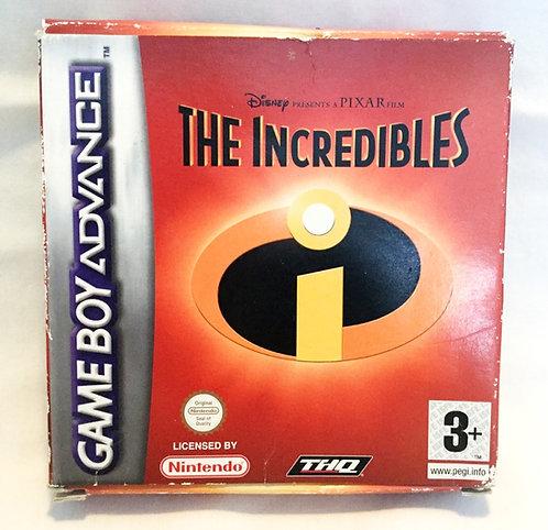 The Incredibles Nintendo Game Boy Advance Disney Pixar