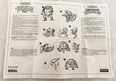 Teenage Mutant Hero Turtles Mutations Instructions