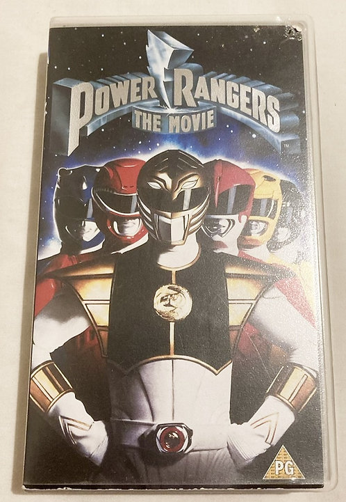 Power Rangers The Movie VHS
